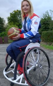 Paralympian Maddie Thompson