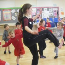 Highfields Sports Leaders UK Dancing RDSSP 2