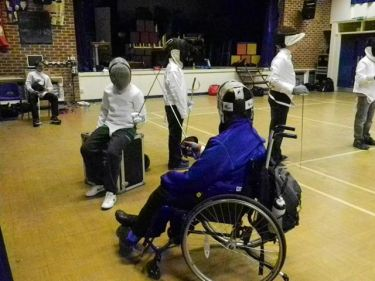 Joe Bell & HVC fencing club