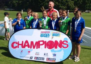 Osmaston Primary Tri-Golf Winners at Summer School Games