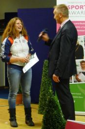 Sportsperson of the Year, Clay pigeon shooter Caroline Povey
