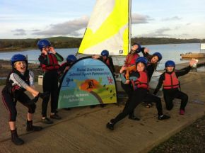 12 AGS students gain RYA Stage 1 certificates using Sportivate funding