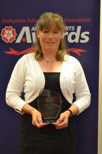 Janice Price Derbyshire School Sports Association Awards web