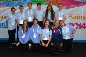 manchester national school games July 2014 RDSSP