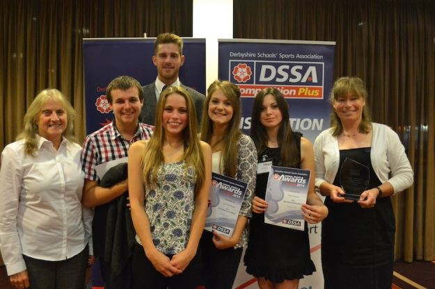 RDSSP at Derbyshire School Sports Association Awards web
