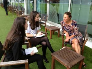 Highfields interview Chrissie Wellington RDSSP