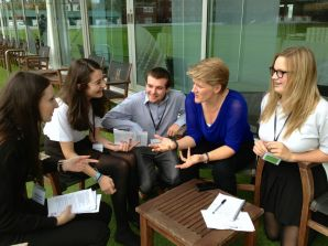 Highfields interview Clare Balding RDSSP